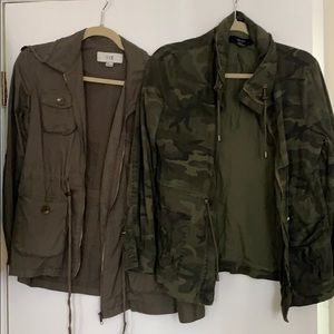 Forever 21 Camo Jackets